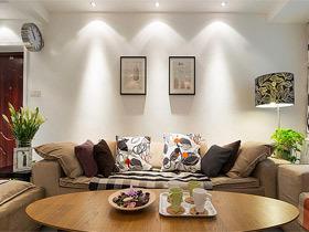 15款清新温暖   客厅装修效果图