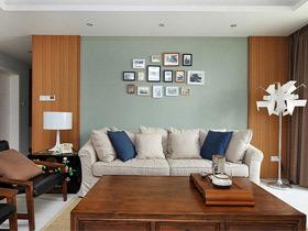 宜家小清新风格 客厅装修效果图