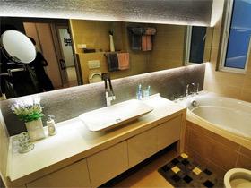 13款简约时尚  卫生间装修效果图