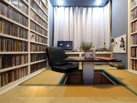 几款书房巧妙设计  榻榻米装修效果图