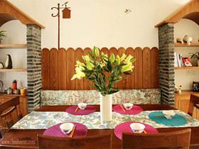 餐厅背景墙装修效果图38