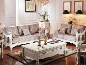 簡歐風格香柏木白色家具欣賞