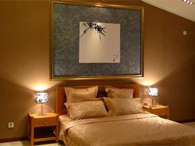 卧室背景墙装修效果图41