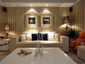 沙发背景墙装修效果图140