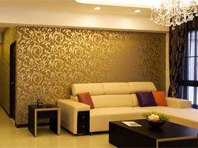 沙发背景墙装修效果图113