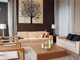 沙发背景墙装修效果图39