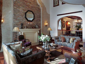 西安鴻基紫韻別墅 地中海風情奢華裝飾