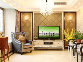 电视背景墙装修效果图56