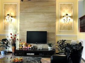 电视背景墙装修效果图49