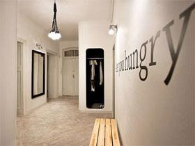 12款原木地板 玄关装修效果图