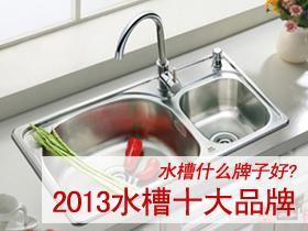 水槽什么牌子好 2016水槽十大品牌