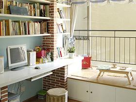 10款小清新装修 书房装修效果图
