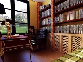 10款古典个性 书房装修效果图