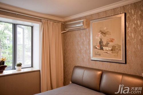 搭配壁纸窗帘设计图