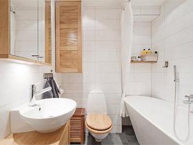 14个清新日式卫生间装修效果图