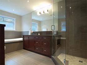 浴室柜装修效果图95