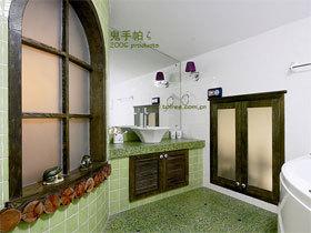 浴室柜装修效果图85