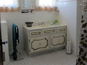 浴室柜装修效果图60