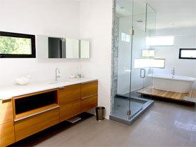 浴室柜装修效果图52