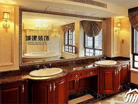 浴室柜装修效果图38