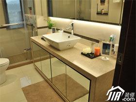 浴室柜装修效果图23