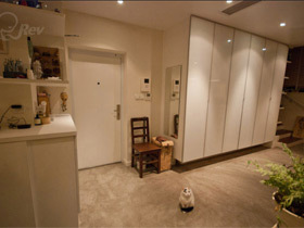 进门收纳 14个玄关柜设计
