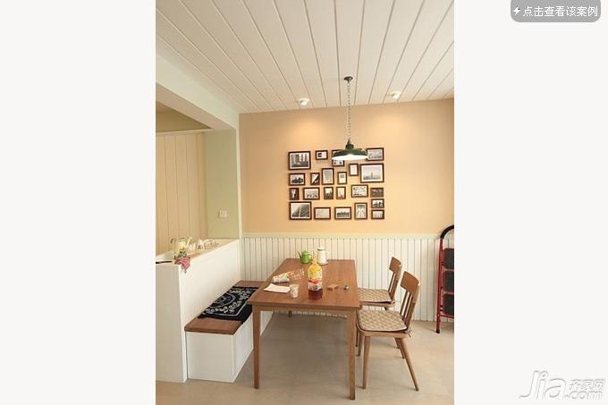 家居 绿达装饰 > 省钱省空间 24个实用餐厅卡座设计   墙面的色彩已经图片