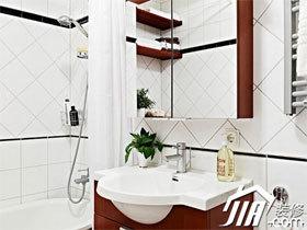 洗手台装修效果图65