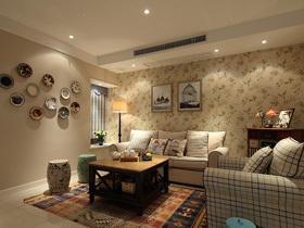鸟语花香的家 76平清新两室一厅