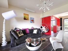 十上—红色泡沫 简约创意家居设计图片