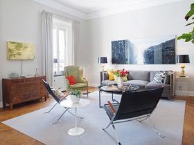 完美色彩平衡 瑞典199平大公寓