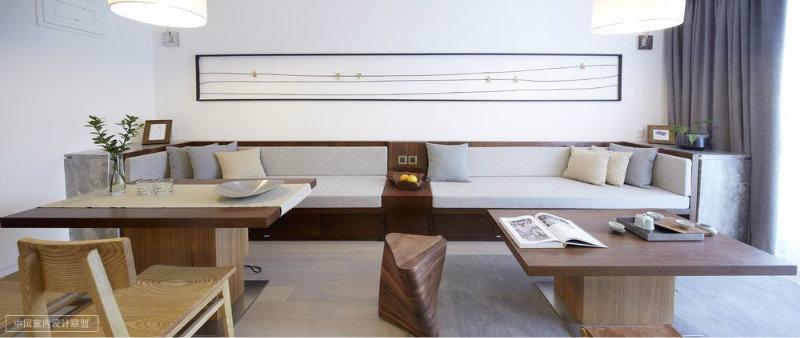 二居室简约风装修效果图,室内设计效果图 齐家装修网高清图片