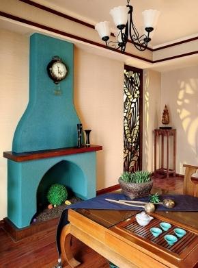 0) 东南亚风格海外家居公寓装修80平米装修 东南亚家具饰品 迷情泰式图片