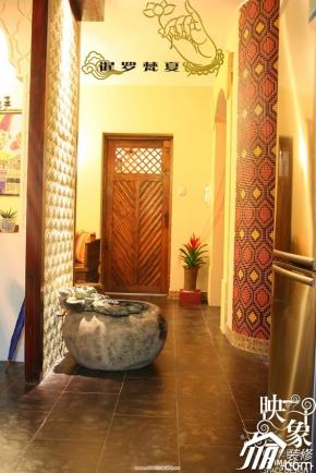 东南亚风格八〇年代设计地中海风格 暹罗梵夏 60平东南亚风情泰式小屋图片