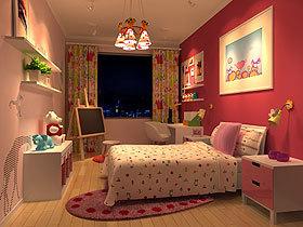 缤纷儿童房 漂亮灯光让宝宝更有创造力