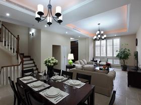 又大又溫馨 現代美式低調別墅家居