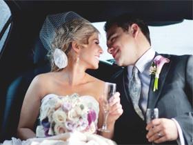 淡紫色的甜蜜爱恋 高贵优雅的梦幻婚礼