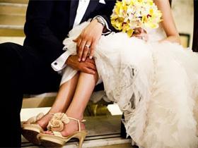 阳光柠檬黄基调 耀眼的幸福婚礼