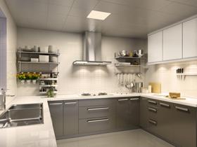 欧普净爽照明 装点实用现代厨房