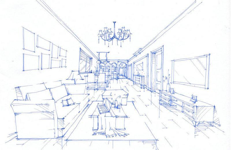设计师手绘集效果图
