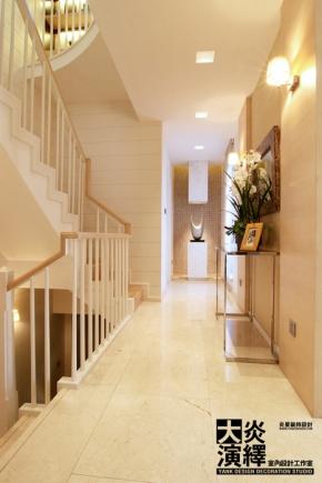 300平米新中式混搭别墅 共23张图评论( 0) 楼梯荷·龙十荷别墅装修 89图片