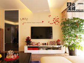 簡單中透著溫馨 65平簡約風小戶型婚房