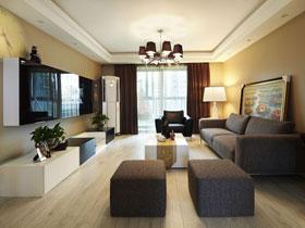 樸素與精致兼備 時尚又溫馨的現代三居