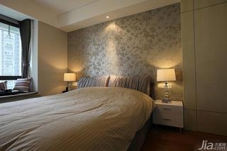 中式风格二居室20万以上卧室飘窗装修效果图