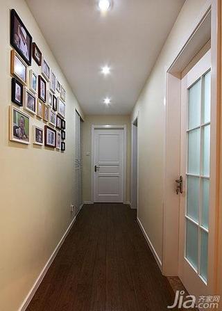 简约风格三居室100平米过道设计
