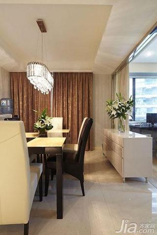 现代简约风格四房140平米以上餐边柜效果图