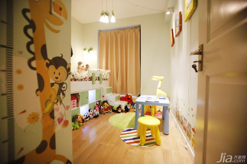 欧普照明儿童房灯具效果图