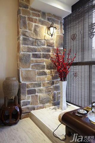 地中海风格二居室浪漫140平米以上阳台地台设计图纸