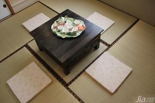 混搭风格二居室90平米榻榻米安装图