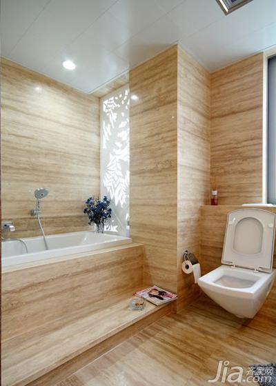 北欧风格20万以上140平米以上卫生间浴缸效果图